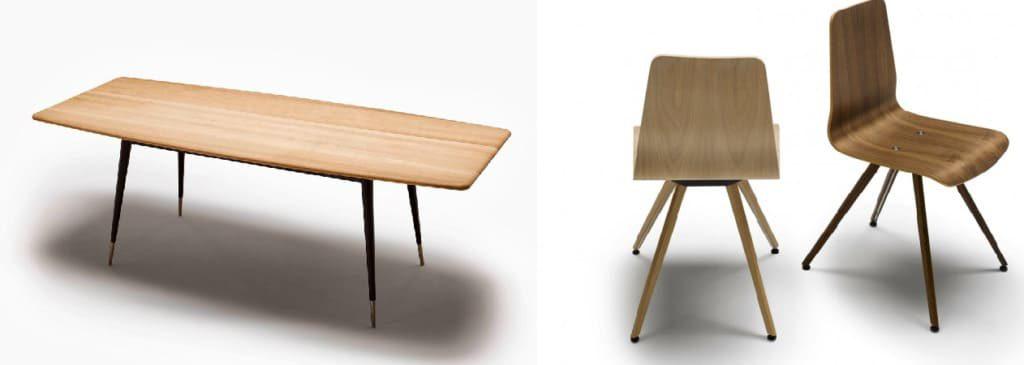 Naver Tisch mit Stühlen