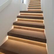 Treppen Holz escalier bois