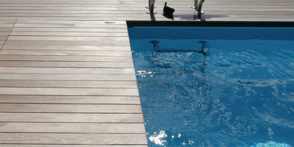 Pool Terrasse Diele Luxemburg