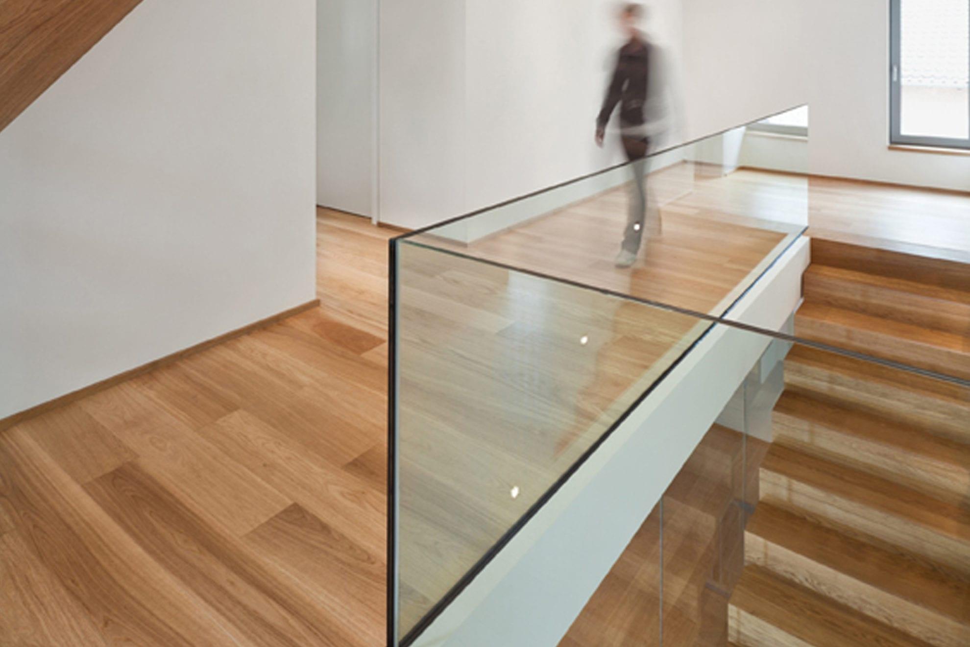 Escalier moderne bois - Parquet Böhm