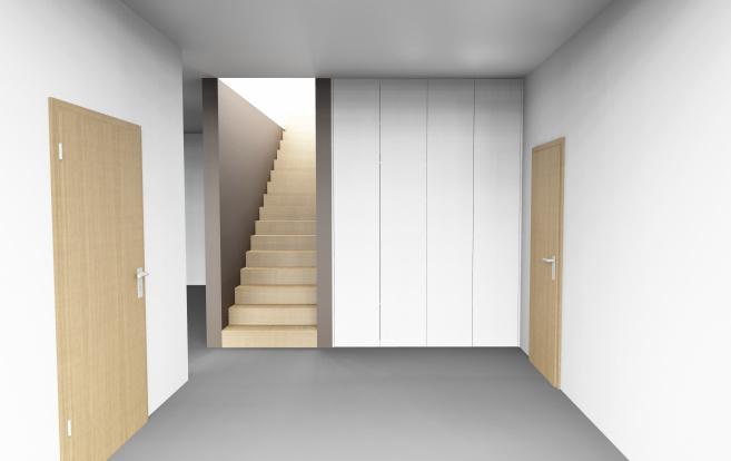 Tür und Treppe