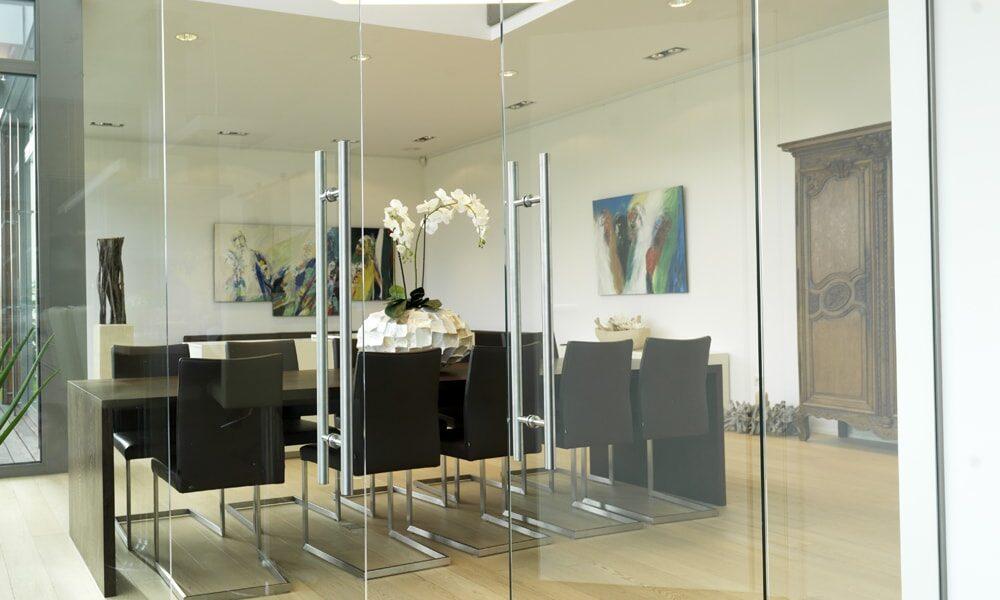 Schiebetür Glas Modern