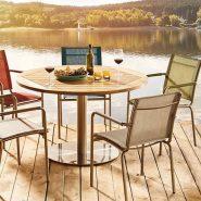 Tisch am See