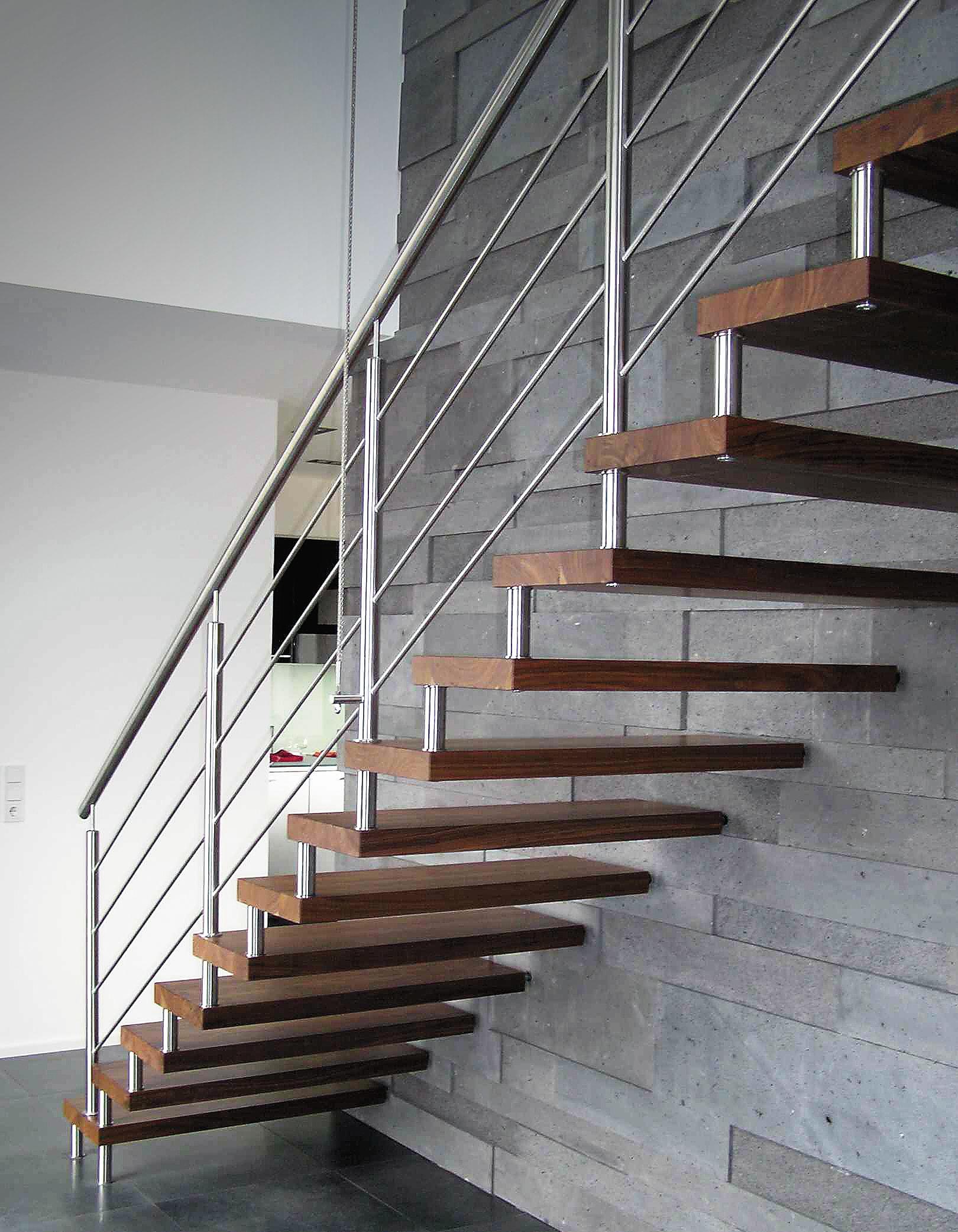 Astounding Schwebende Treppe Sammlung Von Mit Bolzen